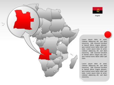 Africa PowerPoint Map Slide 53
