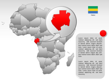 Africa PowerPoint Map Slide 55