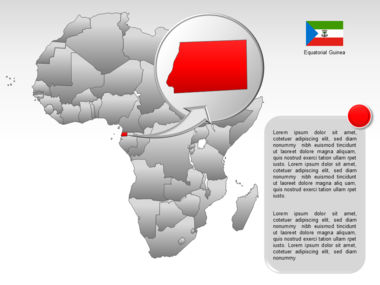 Africa PowerPoint Map Slide 56