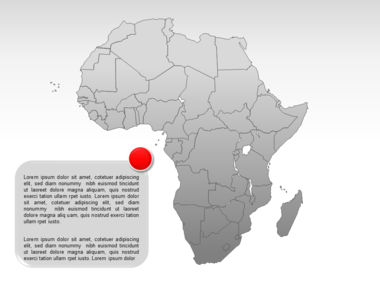 Africa PowerPoint Map Slide 8