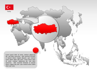 Asia PowerPoint Map Slide 11