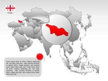 Asia PowerPoint Map Slide 12