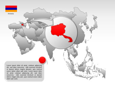 Asia PowerPoint Map Slide 13