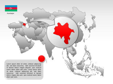 Asia PowerPoint Map Slide 14