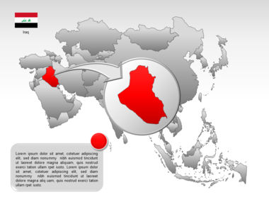 Asia PowerPoint Map Slide 16