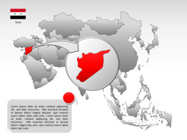 Asia PowerPoint Map Slide 17