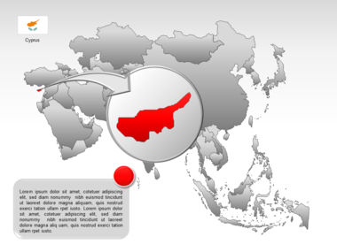 Asia PowerPoint Map Slide 18