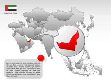 Asia PowerPoint Map Slide 23
