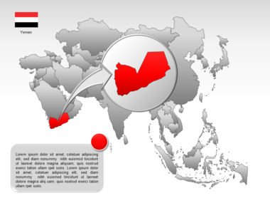 Asia PowerPoint Map Slide 25