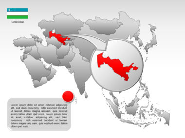 Asia PowerPoint Map Slide 27