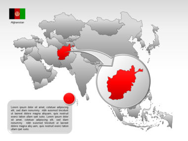 Asia PowerPoint Map Slide 29