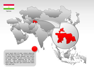Asia PowerPoint Map Slide 31