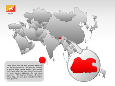 Asia PowerPoint Map Slide 35