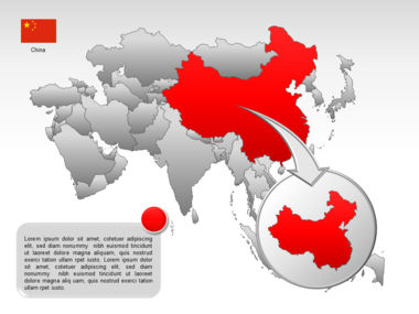 Asia PowerPoint Map Slide 37