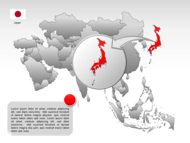 Asia PowerPoint Map Slide 41