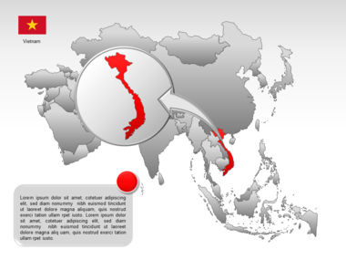 Asia PowerPoint Map Slide 45
