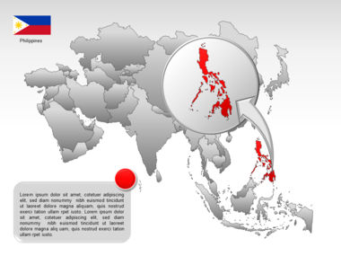 Asia PowerPoint Map Slide 48