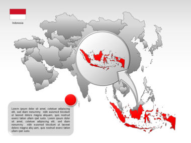Asia PowerPoint Map Slide 49