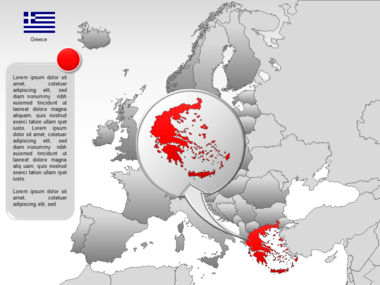 Europe PowerPoint Map Slide 45