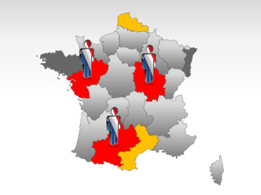 France PowerPoint Map Slide 11