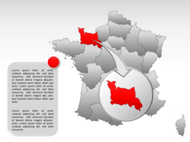 France PowerPoint Map Slide 14