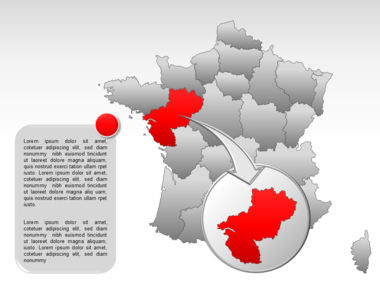 France PowerPoint Map Slide 20