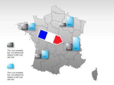 France PowerPoint Map Slide 36