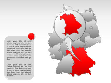 Germany PowerPoint Map Slide 20