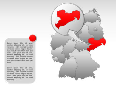 Germany PowerPoint Map Slide 22