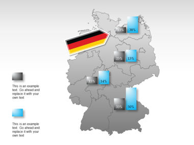 Germany PowerPoint Map Slide 30