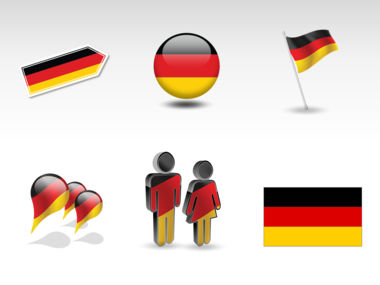 Germany PowerPoint Map Slide 8