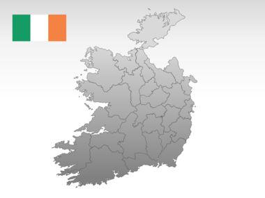 Ireland PowerPoint Map Slide 10