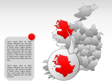 Ireland PowerPoint Map Slide 14