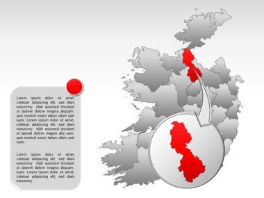 Ireland PowerPoint Map Slide 16