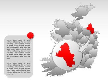 Ireland PowerPoint Map Slide 19