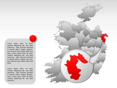 Ireland PowerPoint Map Slide 20