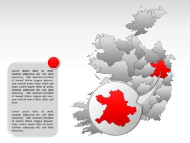 Ireland PowerPoint Map Slide 21