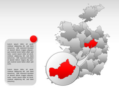 Ireland PowerPoint Map Slide 22