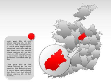 Ireland PowerPoint Map Slide 23