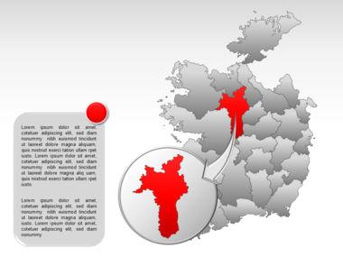 Ireland PowerPoint Map Slide 24