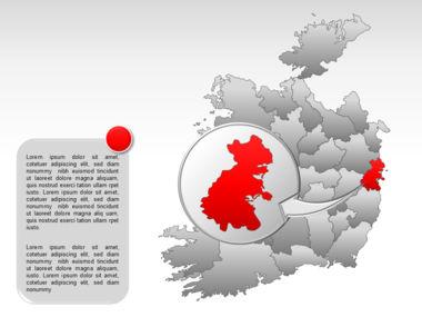 Ireland PowerPoint Map Slide 25