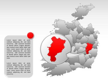 Ireland PowerPoint Map Slide 26