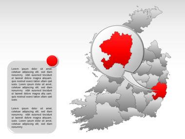 Ireland PowerPoint Map Slide 29