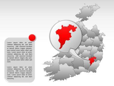 Ireland PowerPoint Map Slide 30