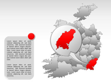 Ireland PowerPoint Map Slide 31