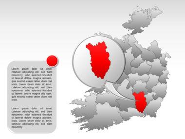Ireland PowerPoint Map Slide 32
