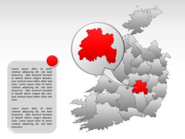 Ireland PowerPoint Map Slide 33