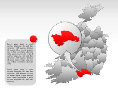 Ireland PowerPoint Map Slide 34