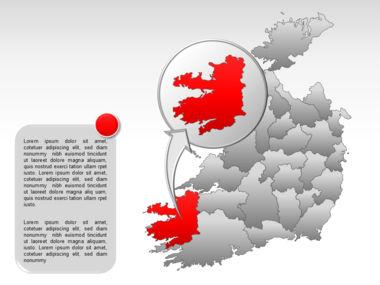 Ireland PowerPoint Map Slide 39