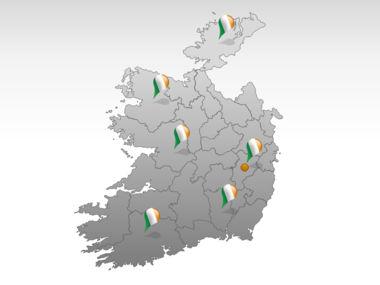 Ireland PowerPoint Map Slide 5